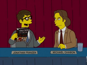 Jonathan Frazen on The Simpsons