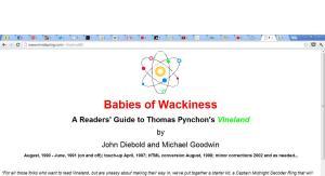 Babies of wackiness