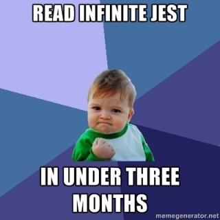 Read Infinite Jest in Under Three Months