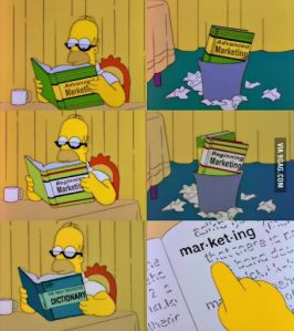 Homer Simpson Marketing