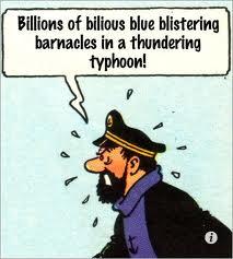 Billions of blistering blue barnacles!