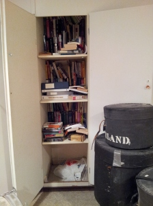 Beware the book closet of doom