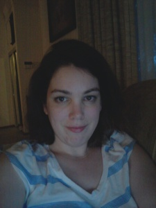 How I roll. PJs, couch, 11:00 p.m. on a Friday, flattering laptop screen lighting.