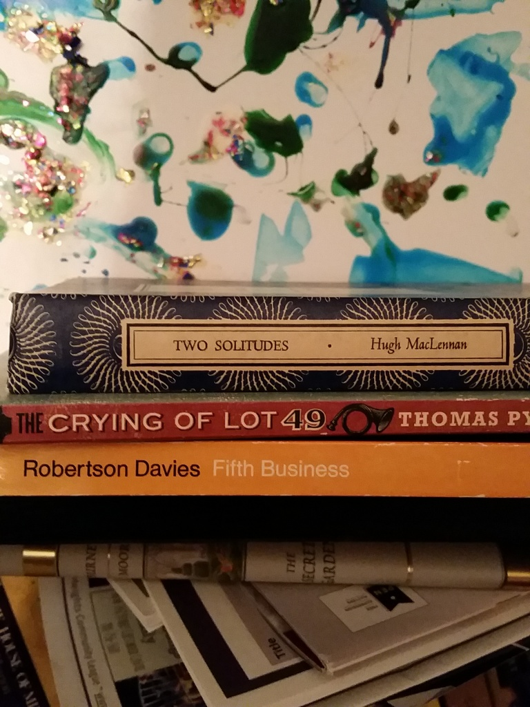 A restrained book haul from the fall library sale