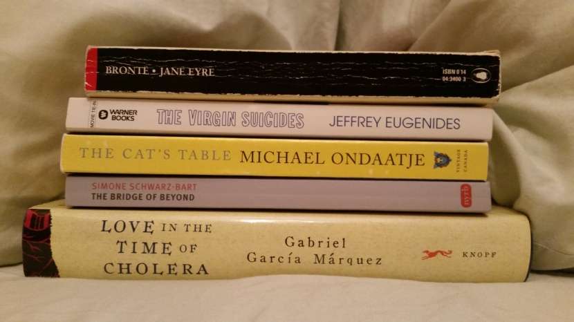 """The Bridge of Beyond with some """"if you like these, you'll like this"""" books from my shelves"""