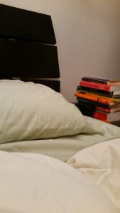 Empty bed, full TBR pile