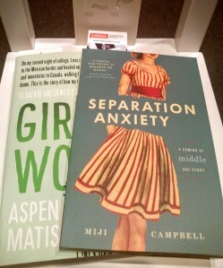 Girl in the Woods Aspen Matis Separation Anxiety Miji Campbell